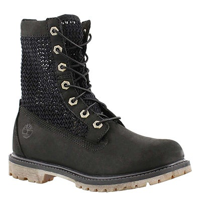 Timberland Women's AUTHENTIC OPEN WEAVE black work boots