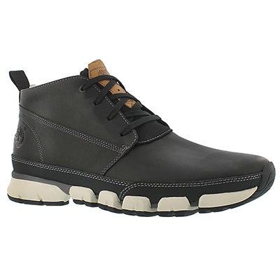 Timberland Men's WARF DISTRICT black lace up chukka boots