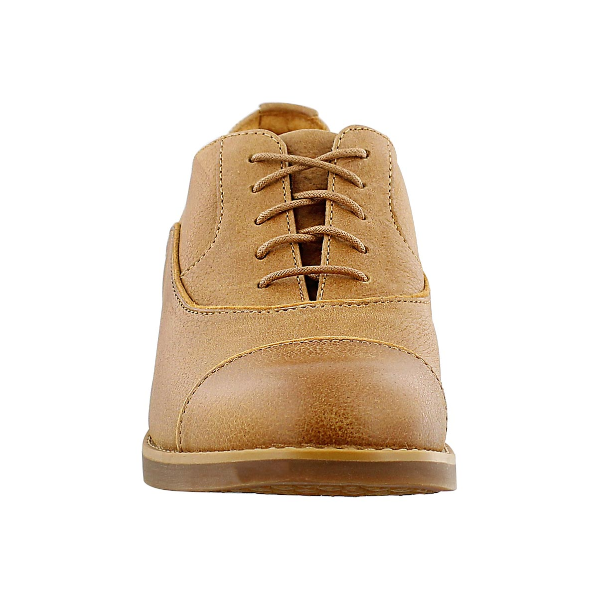 Lds Beckwith wheat 5 eye oxford