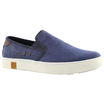 Timberland Men's AMHERST navy slip on casual shoes