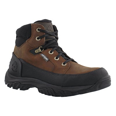 Timberland Men's GUY'D dark brown leather hiking boots