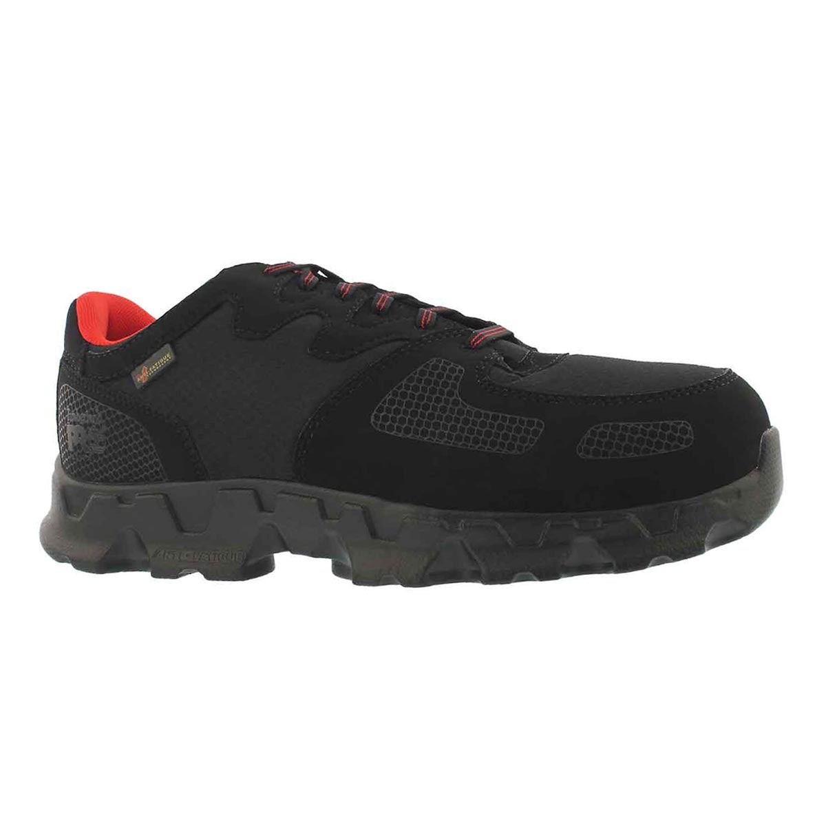 Men's POWERTRAIN  black/red CSA sneakers