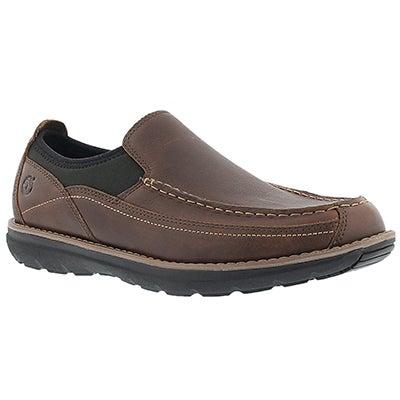 Mns Barrett Park brn slip on casual shoe