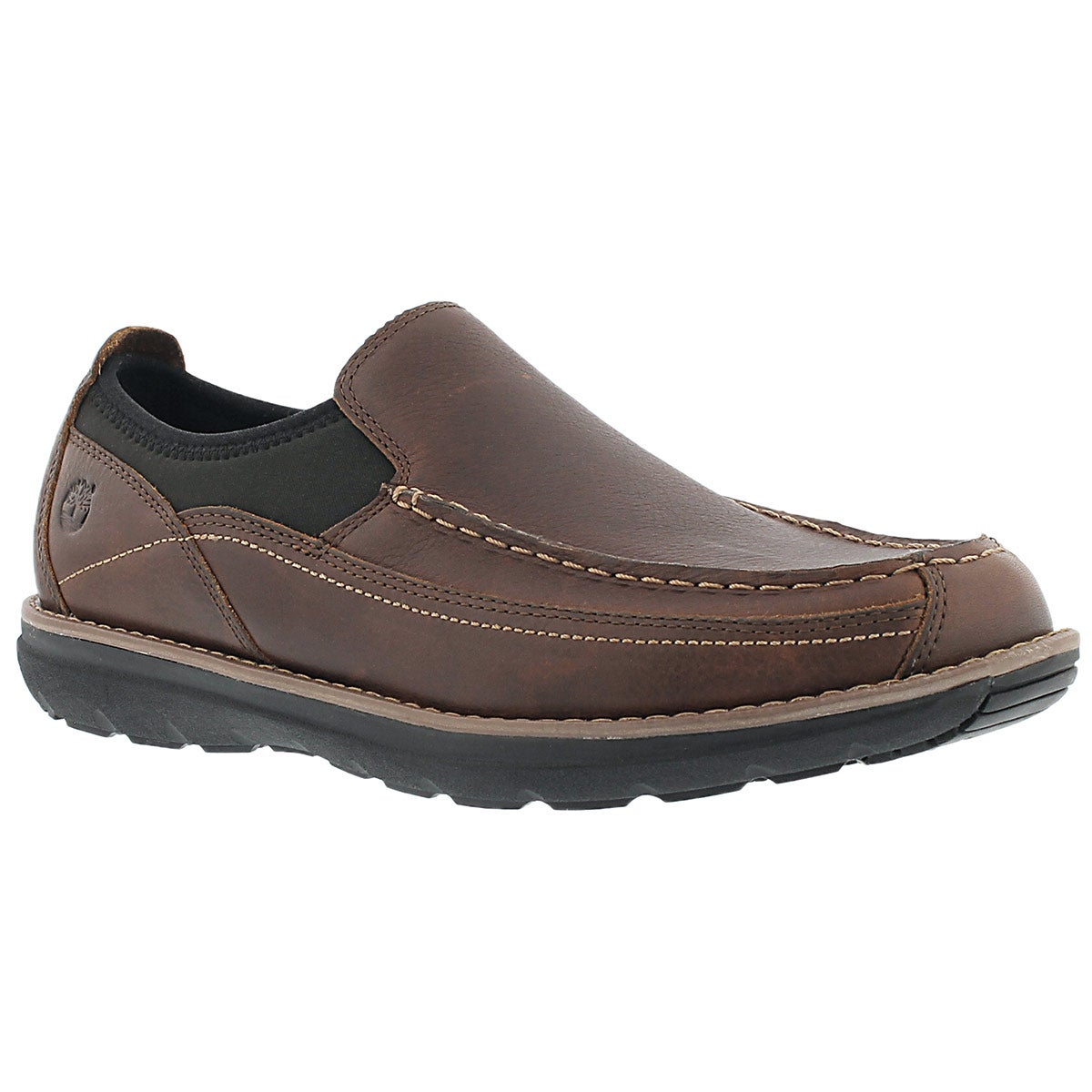 Mns Barrett Park brn slip on casual shoe