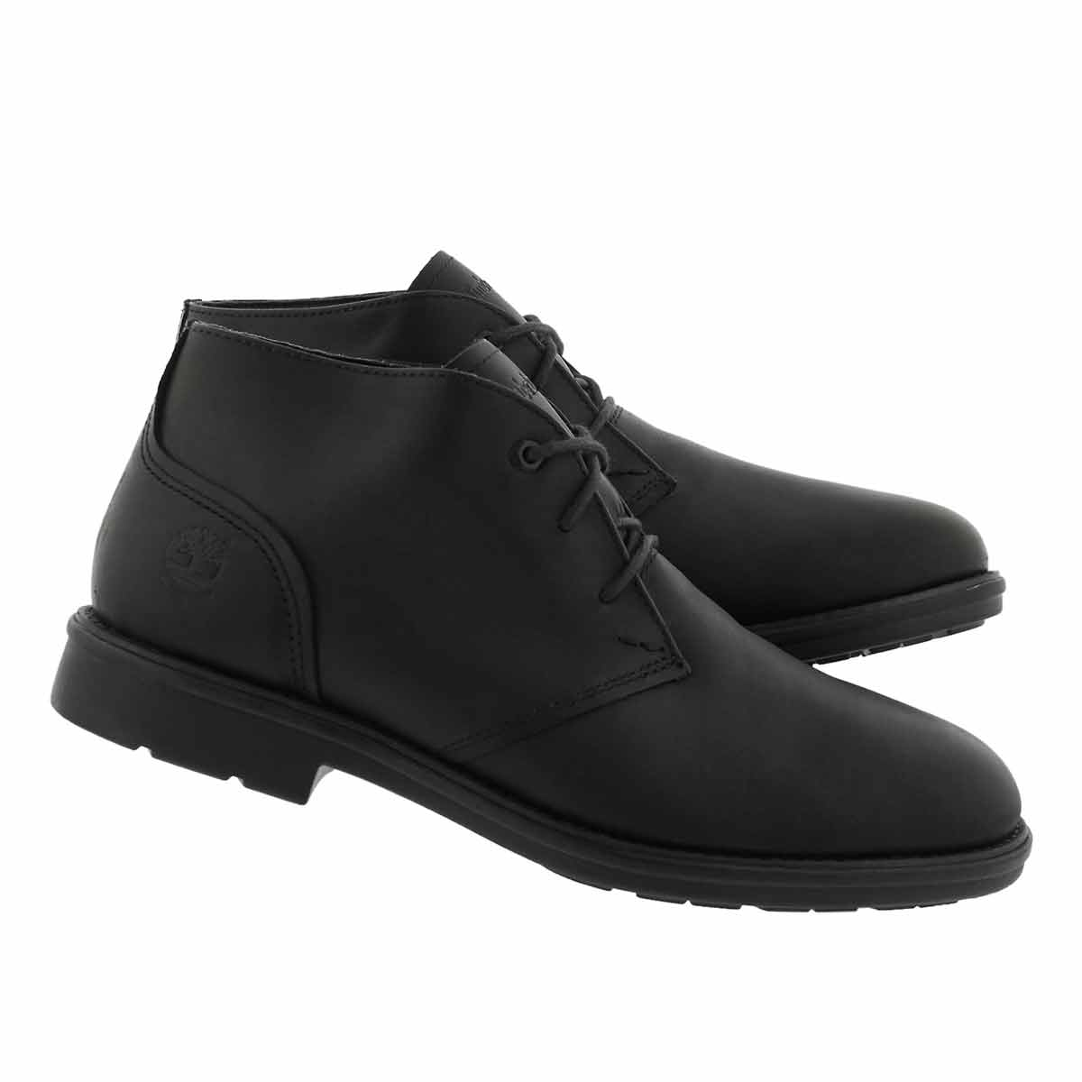 Mns Carter Notch blk chukka boot- wide
