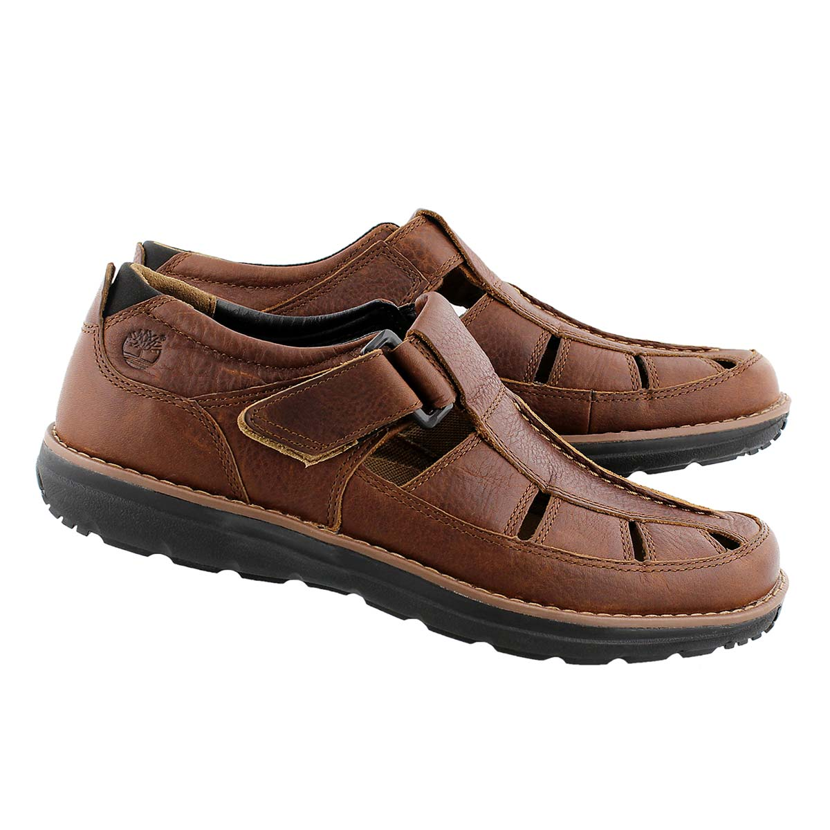 Mns Barrett Park brown fisherman sandal
