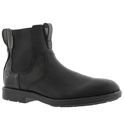 Timberland Men's CARTER NOTCH black chelsea boots - Wide