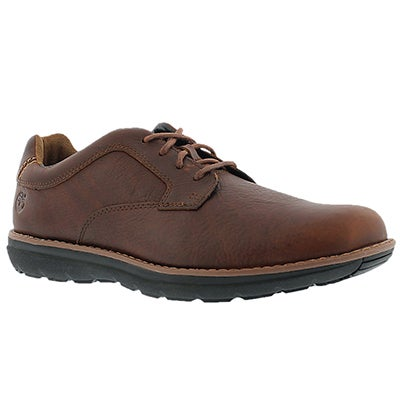 Timberland Men's BARRETT PARK brown casual oxfords