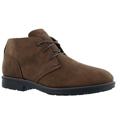 Mns Carter Notch brn chukka boot- wide