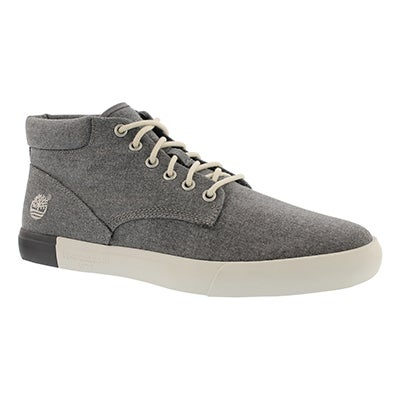 Timberland Men's NEWPORT BAY dark grey chukka boots