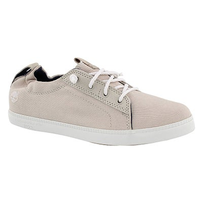 Lds Newport Bay white lace up snkr