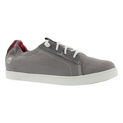 Lds Newport Bay grey lace up snkr