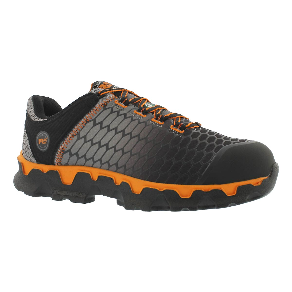 Men's POWERTRAIN SPORT grey/orange CSA sneakers