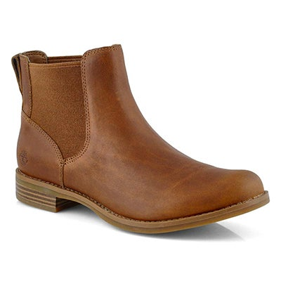 Lds Magby light brown chelsea boot