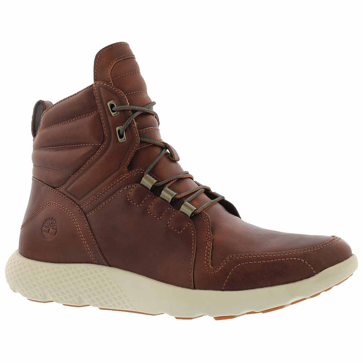 Men's FLY ROAM brown casual ankle boots