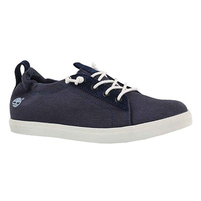 Lds Newport Bay navy lace up snkr