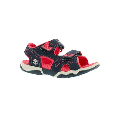 Timberland Infants' ADVENTURE SEEKER navy/pink sandals