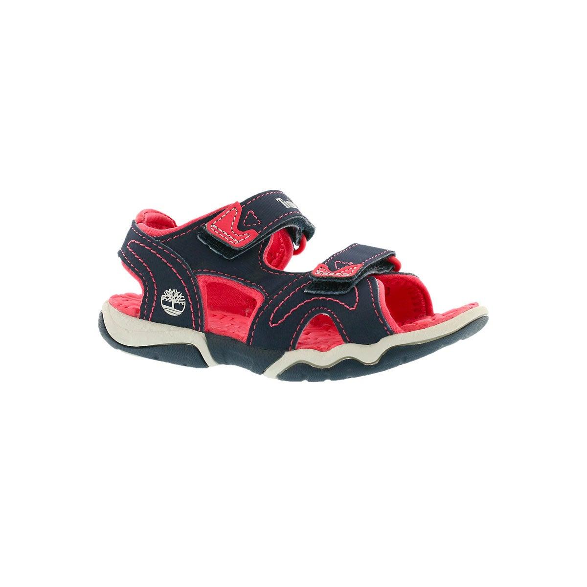 Infants' ADVENTURE SEEKER navy/pink sandals