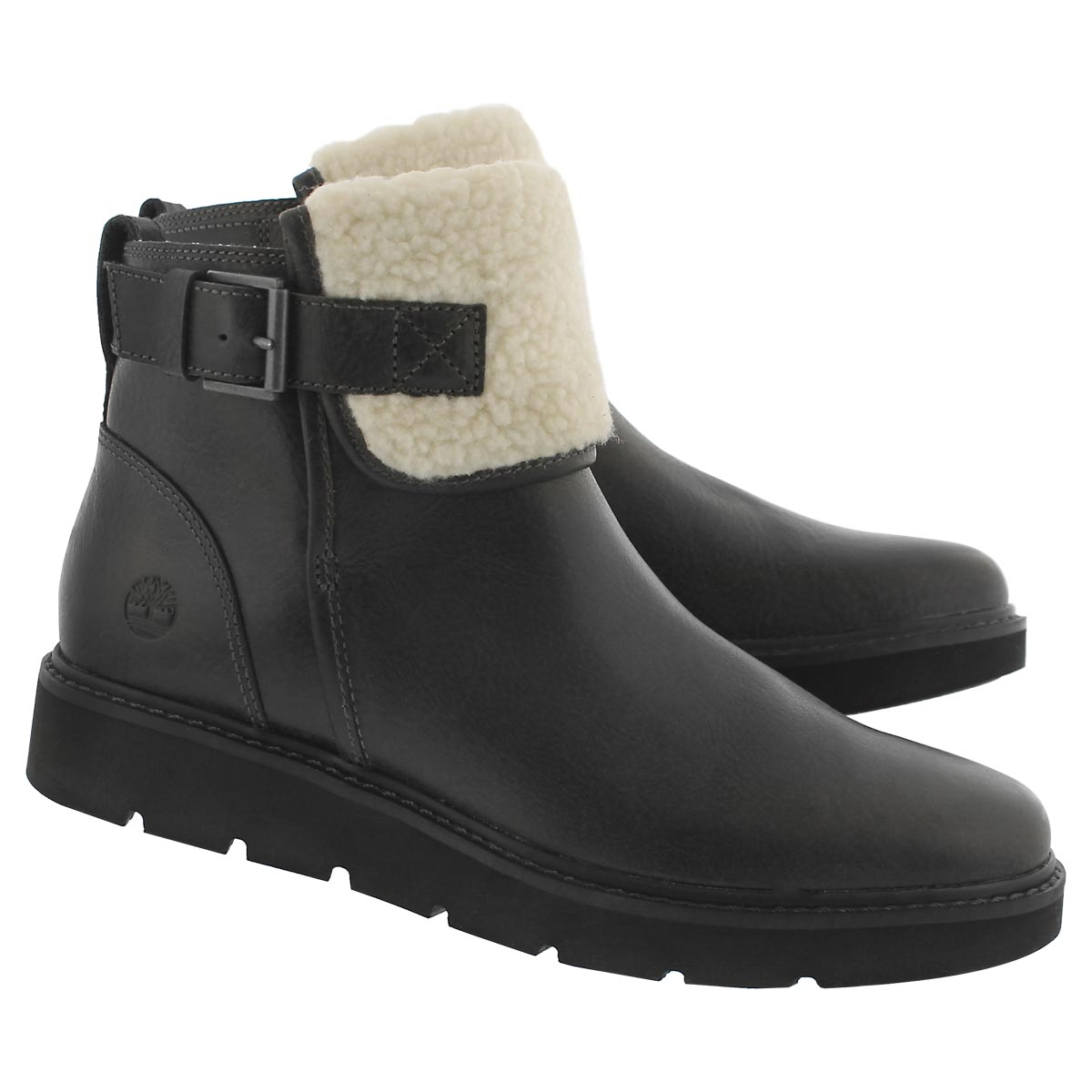 Lds Kenniston dk grey slip on ankle boot