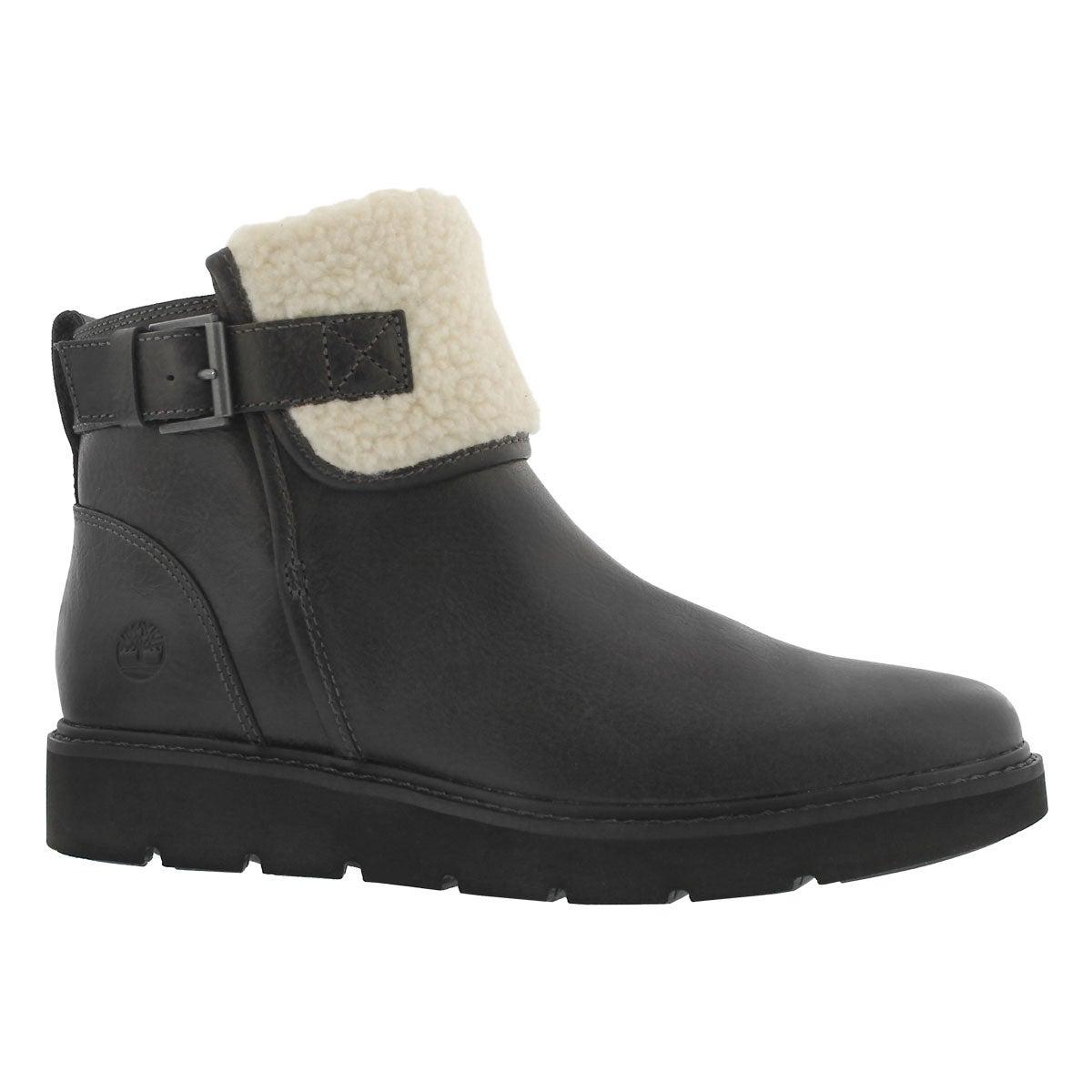 Women's KENNISTON dark grey slip on ankle boots