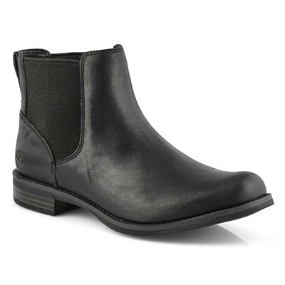 Lds Magby black chelsea boot