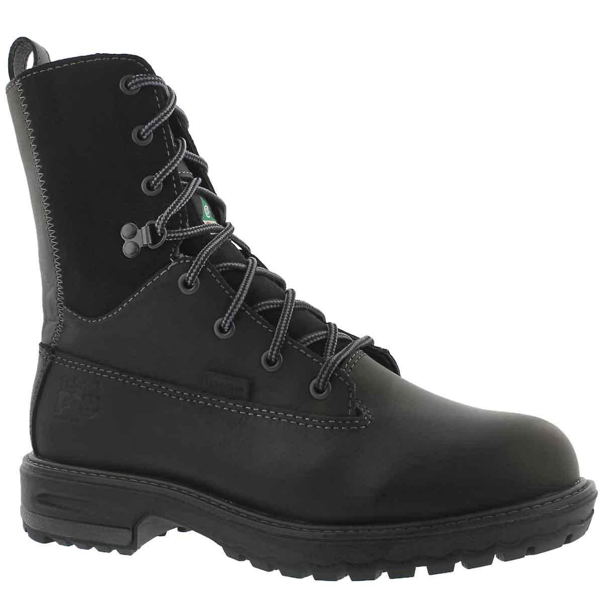 "Women's 8"" HIGHTOWER black waterproof CSA boots"