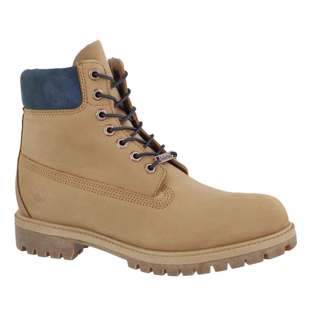 "Men's ICON 6"" PREMIUM light brown work boots"