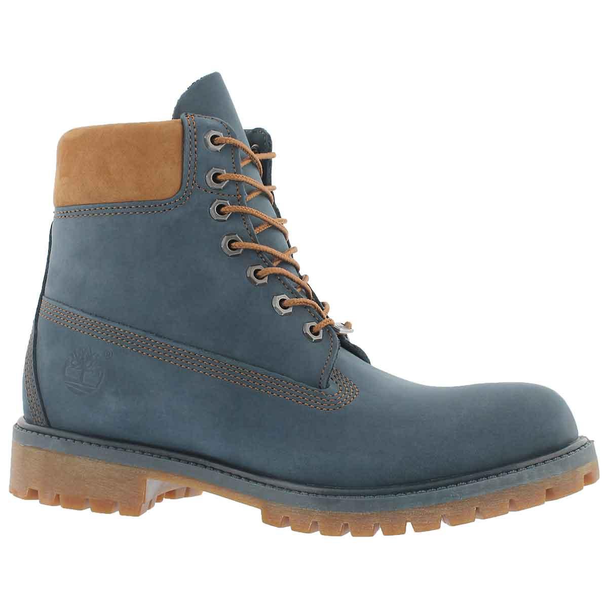 "Men's ICON 6"" PREMIUM navy work boots"