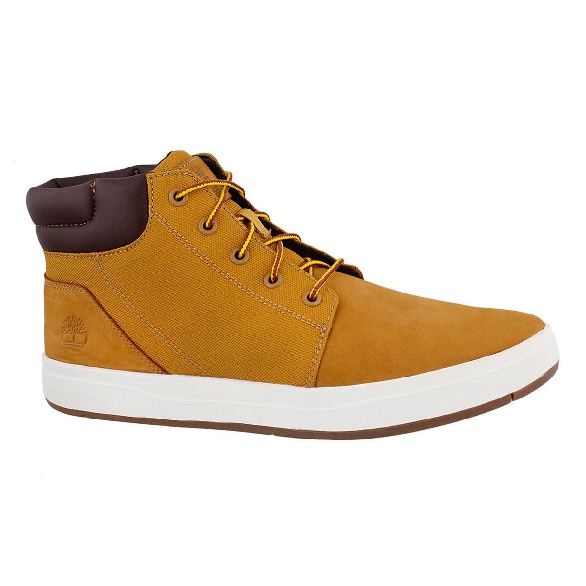 Men's DAVIS SQUARE wheat chukka boots