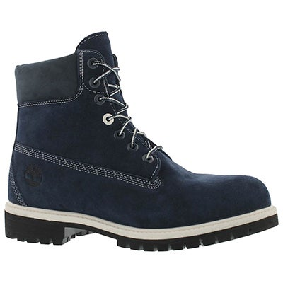 Mns Icon navy suede wtpf ankle boot