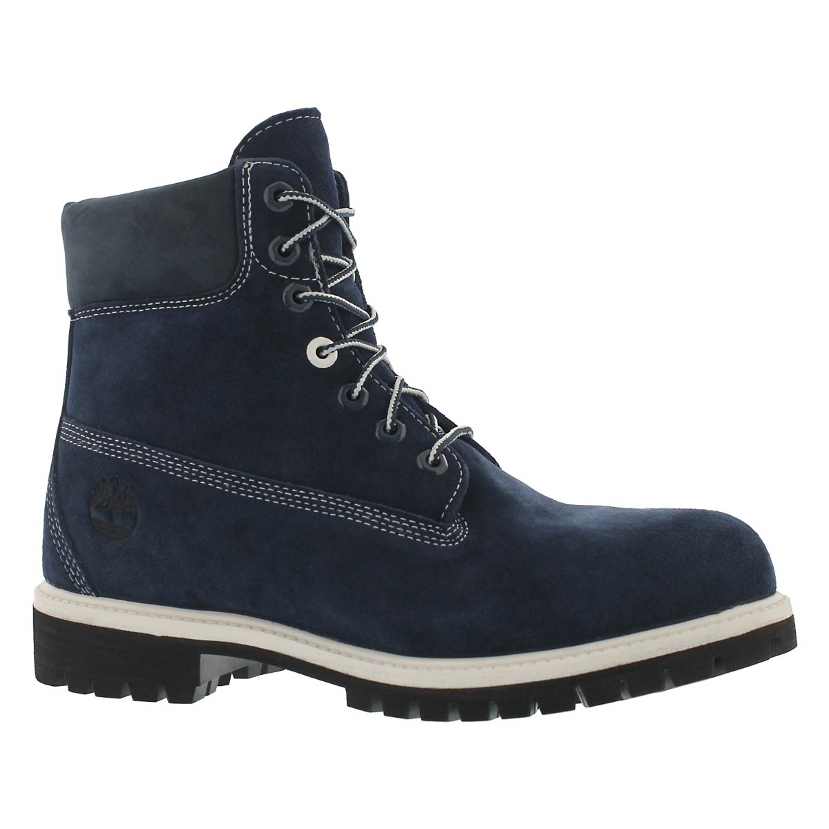 Men's ICON navy suede waterproof ankle boots