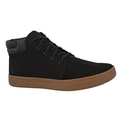 Mns Davis Square black chukka boot