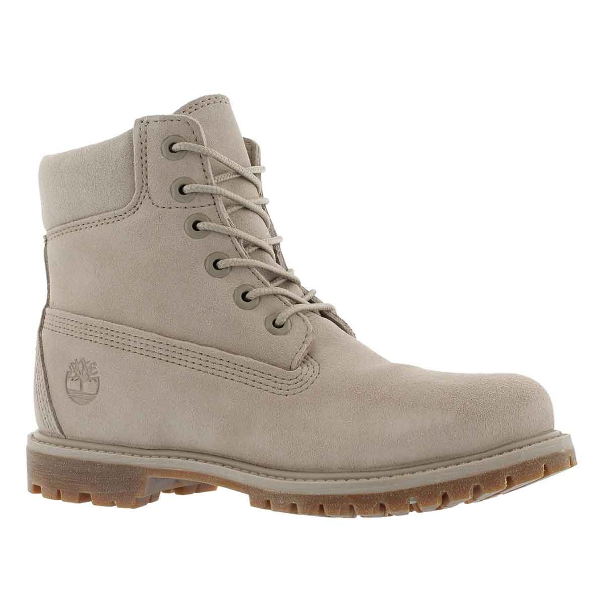 "Women's ICON 6"" PREMIUM light taupe boots"