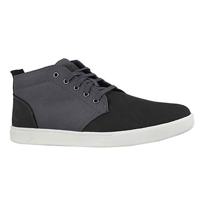Mns Groveton dark grey chukka boot