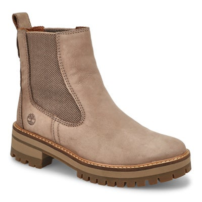 Lds Courmayeur Valley taupe chelsea boot