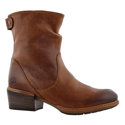 Lds Sutherlin Bay brown mid ankle boot