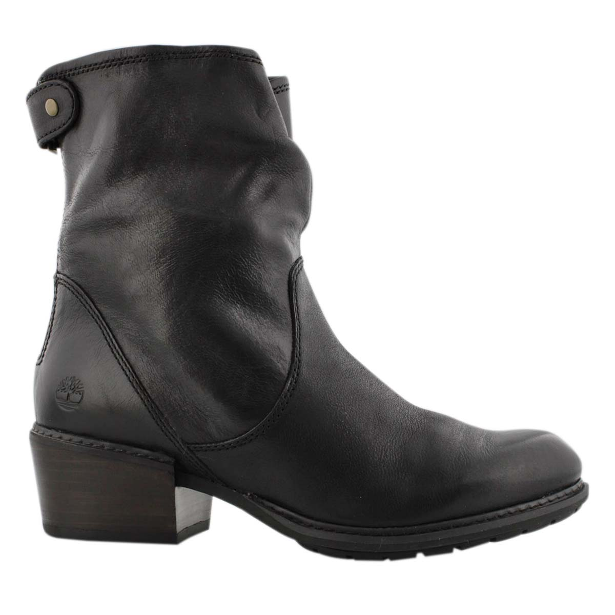 Lds Sutherlin Bay black mid ankle boot