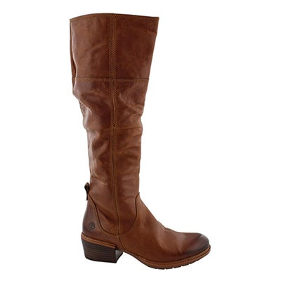 Lds Sutherlin Bay brown knee high boot