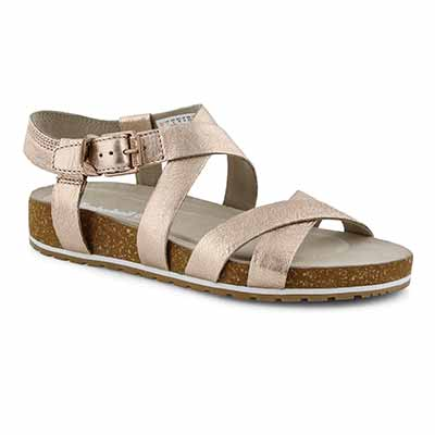 Lds Malibu Waves rse gld casual sandals