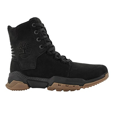 Mns Cityforce black lace up casual boot