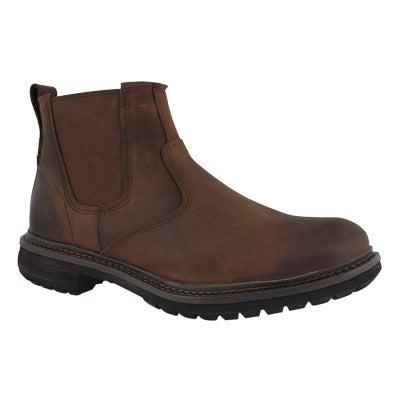 Mns Logan Bay brown chelsea boot