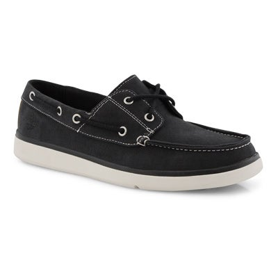 Mns Gateway Pier blk 2eye boat shoe