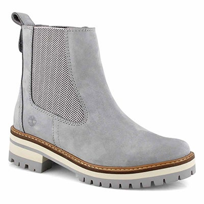 Lds Courmayeur Valley gry chelsea boot