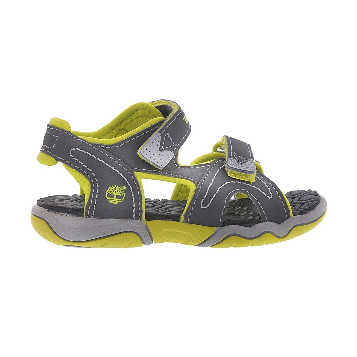 Bys Adventure Seeker gry/grn sandal