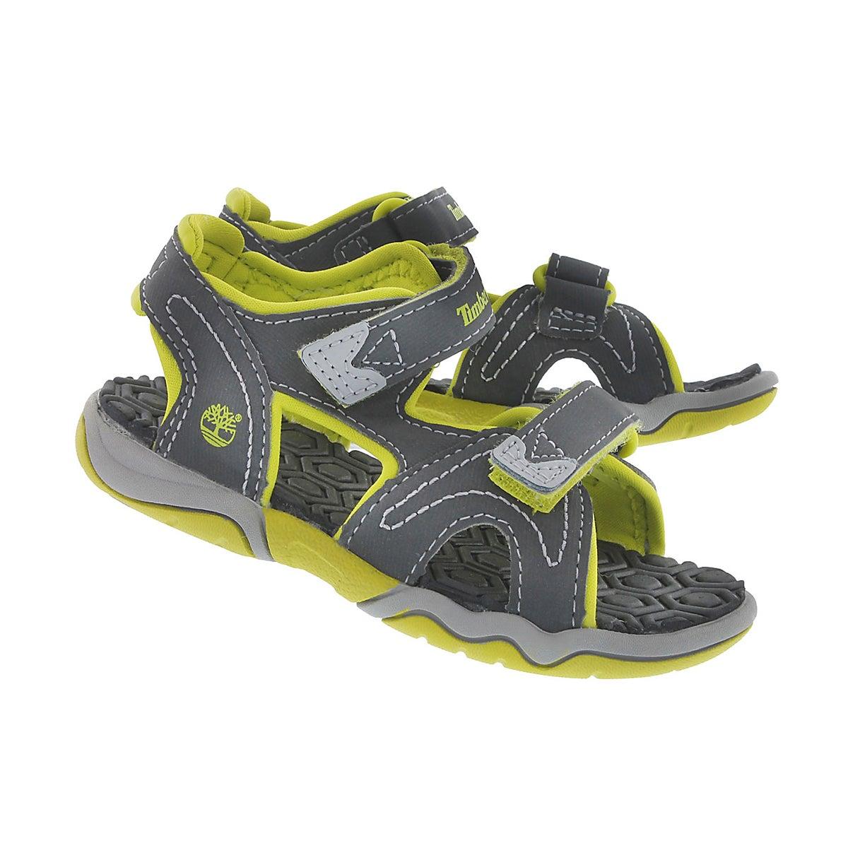 Sandale gris/vert ADVENTURE SEEKER, gar
