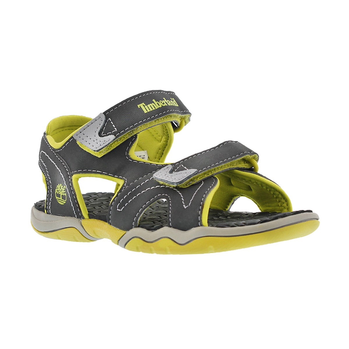 Boys' ADVENTURE SEEKER grey/green sport sandals
