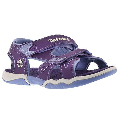 Timberland Girls' ADVENTURE SEEKER purple sport sandals