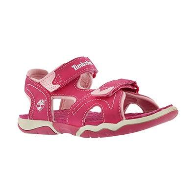 Grls Adventure Seeker pink sport sandal