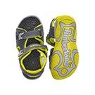 Infs-b Adventure Seeker gry/grn sandal