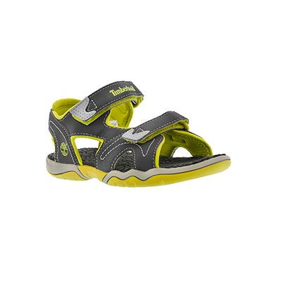 Timberland Infants' ADVENTURE SEEKER grey/green sport sandals